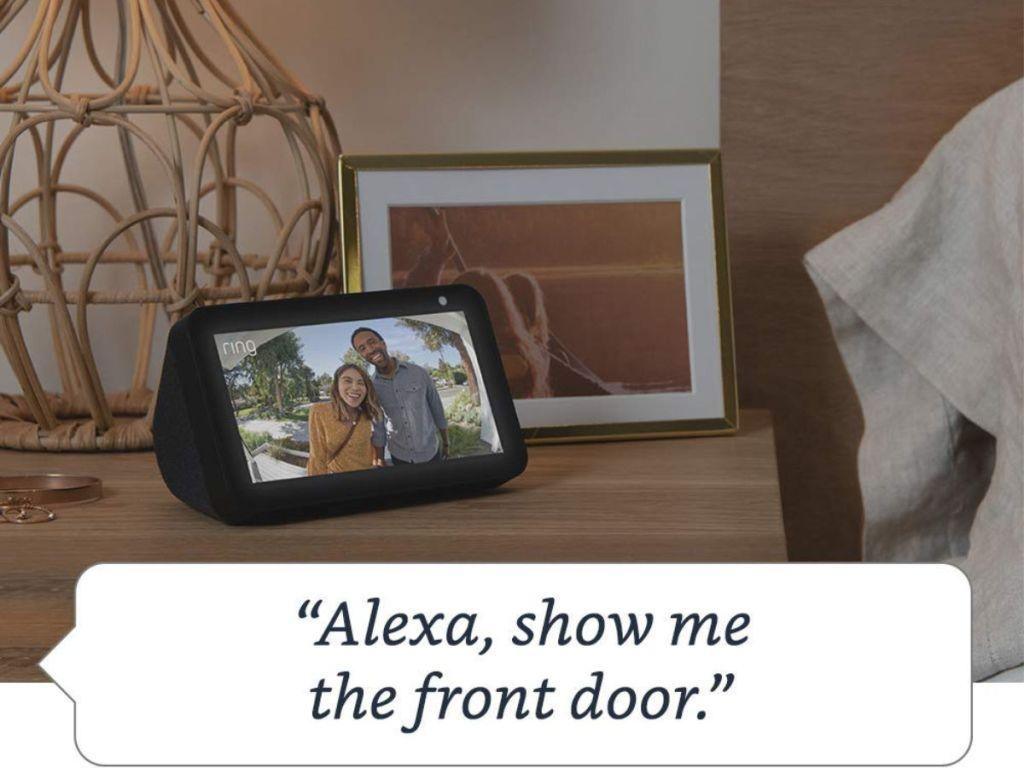 Amazon Echo Show Five Front Door