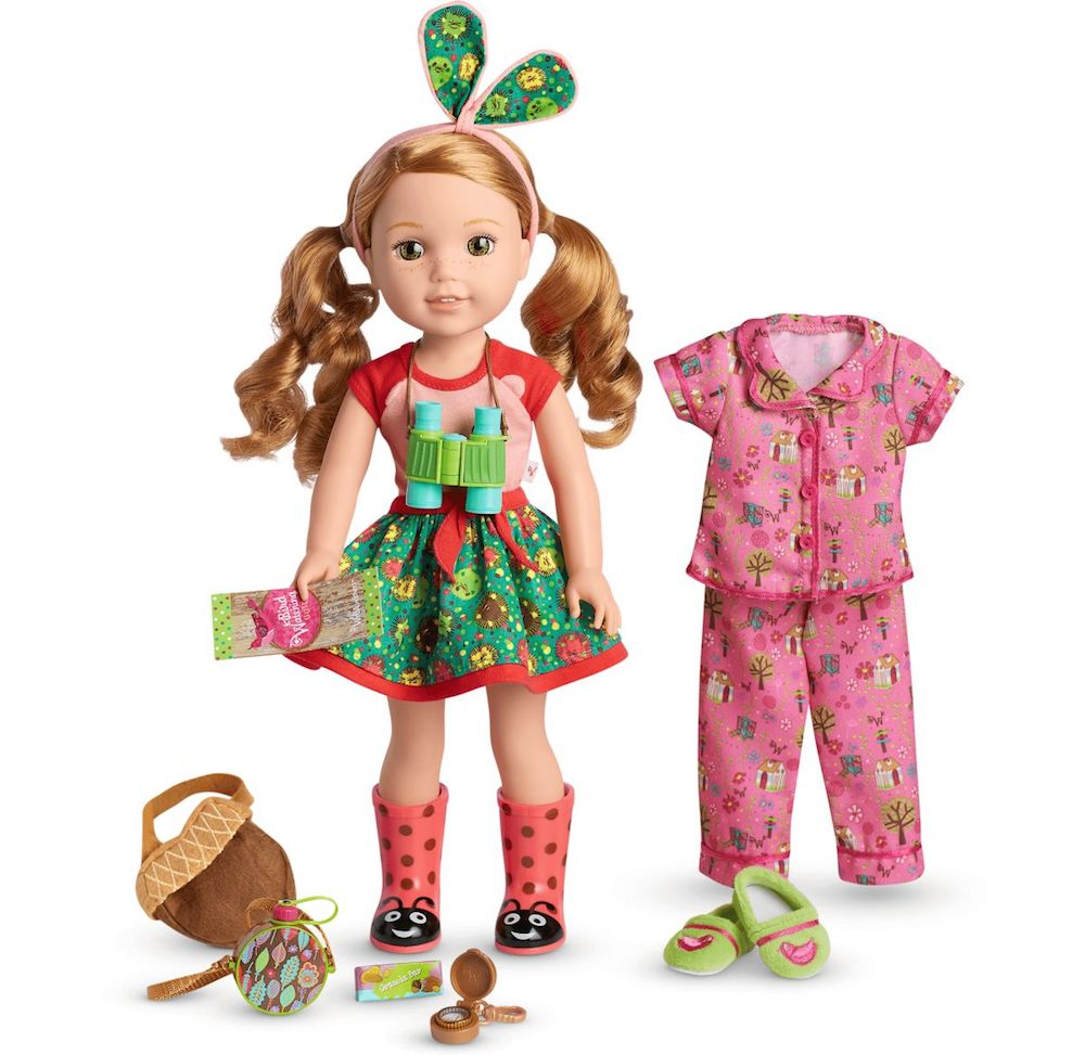 American Girl Doll Willa Set with accessories