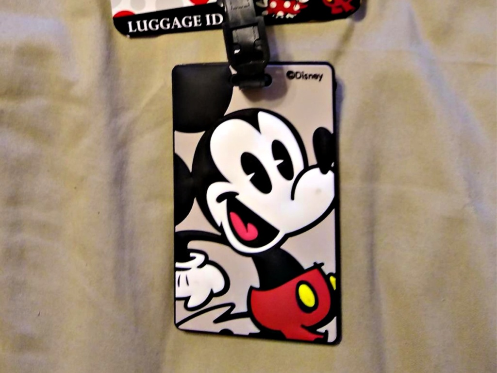 American Tourister Mickey Mouse Luggage Tag