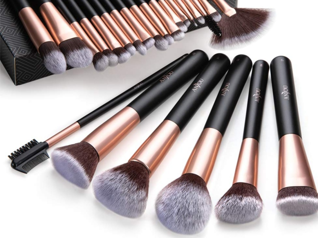 Anjou 24-Piece Makeup brushes