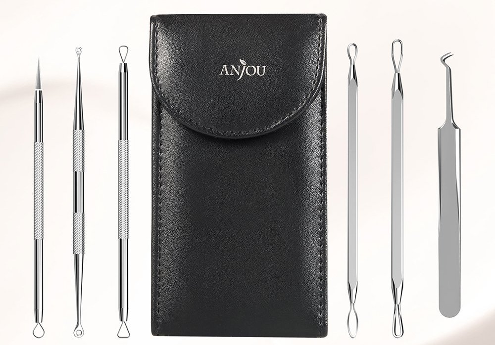 Anjou Blackhead Kit case and tools