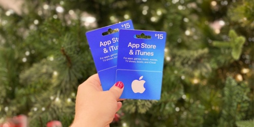 Buy One, Get One 20% Off iTunes & Apple App Store Gift Cards at Target