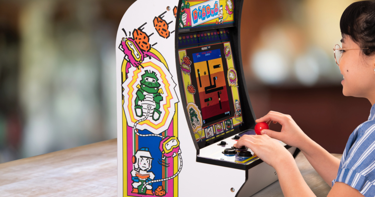 Arcade1up Counter Arcade Games Only 99 99 Shipped Regularly 200 Hip2save