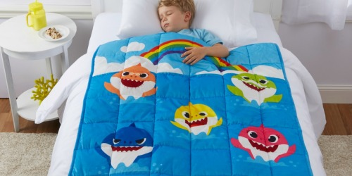 Kids Character Weighted Blankets as Low as $24.97 at Walmart (Regularly $50) | Disney, Baby Shark & More