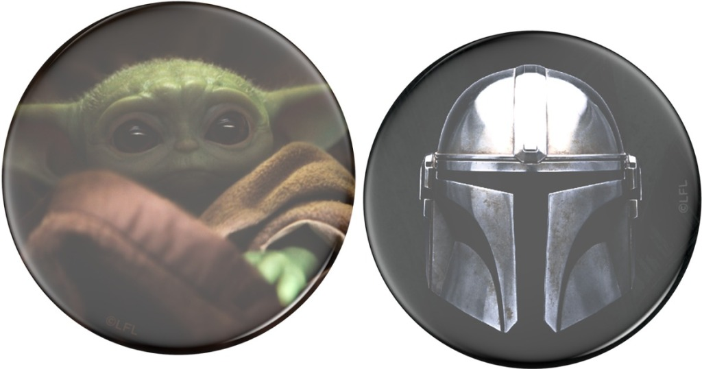 Baby Yoda and The Mandalorian Popsockets