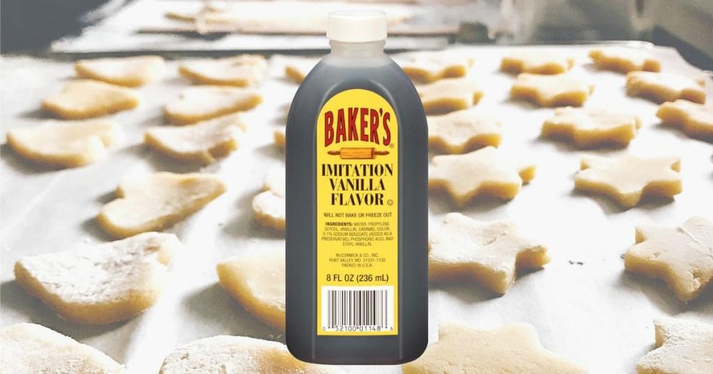 Bakers Imitation Vanilla Flavor