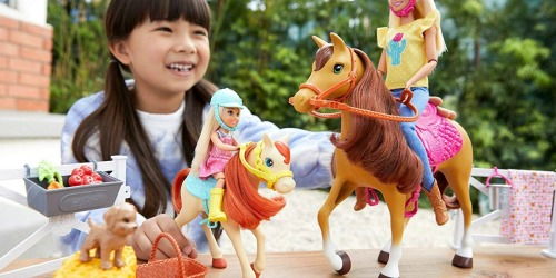 Mattel Barbie Hugs 'N' Horses Only $29.88 at Amazon (Regularly $50)