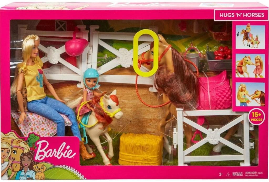 Barbie Horse set in package