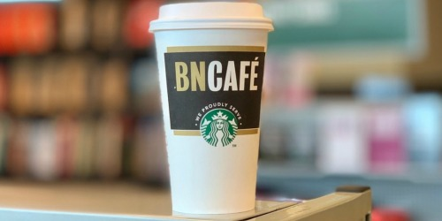 FREE Starbucks Tall Coffee, Tea, or Hot Chocolate for Barnes & Noble Members (Check Your Email)