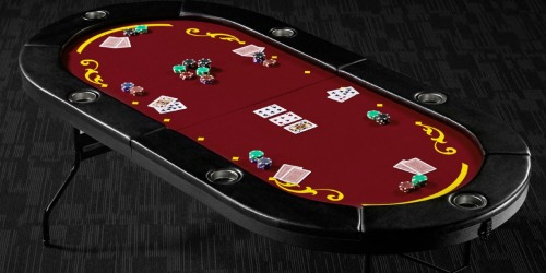 Barrington Foldable 6 Player Poker Table Only $70 Shipped at Walmart.com (Regularly $160)