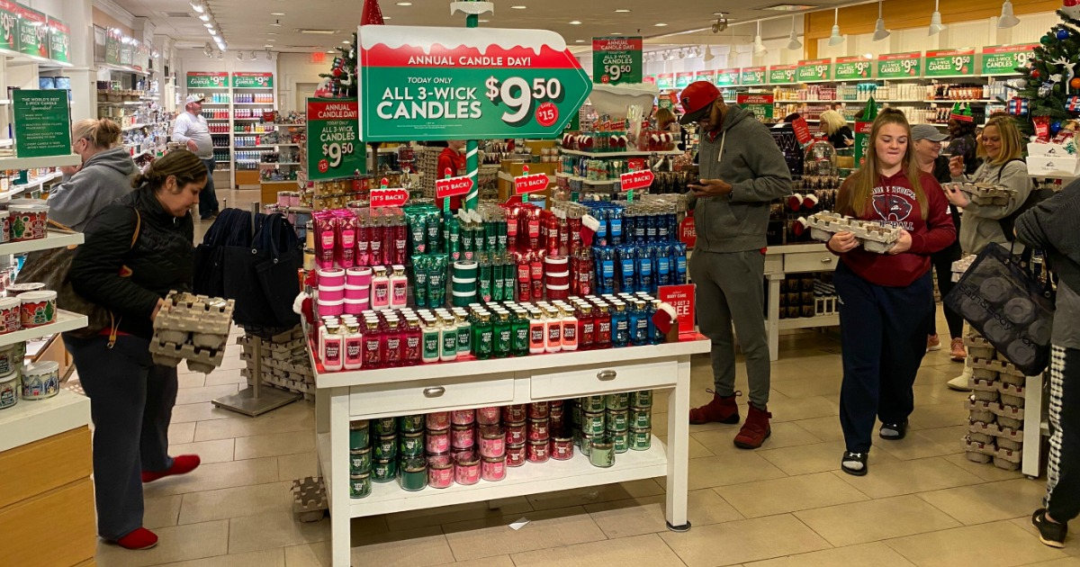 Bath And Body Christmas 2020 Bath & Body Works Candle Day 2020 | Latest Updates on Hip2Save