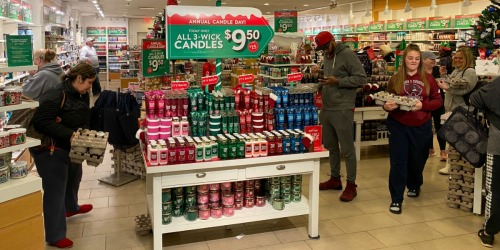 Bath & Body Works 3-Wick Candles ONLY $9.50 (Regularly $24.50) | In-Store Only
