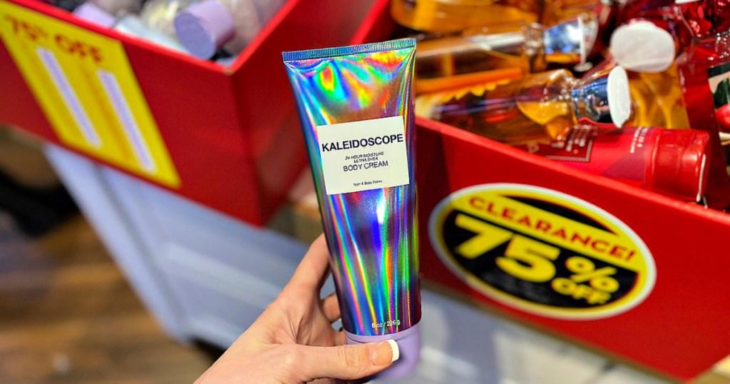 Bath and Body Works Kaleidoscope Body Cream