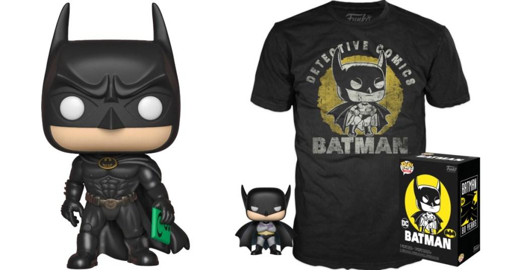 Batman Funko Pop! and t-shirt