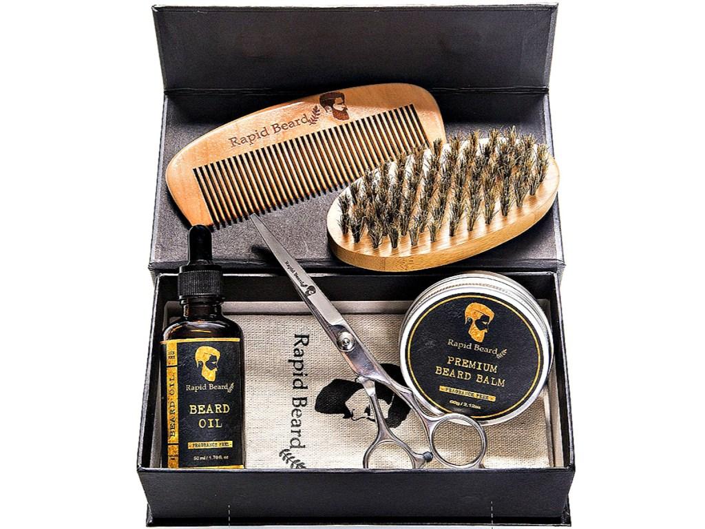 Beard Grooming & Trimming Kit for Men