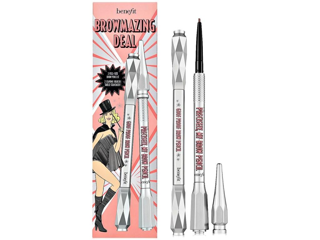 Benefit Cosmetics 2pc BROWmazing Deal Eyebrow Pencil Set