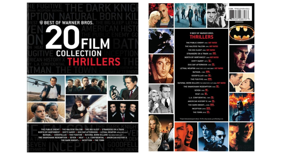 Best of Warner Bros. 20 Film Collection: Thrillers on DVD