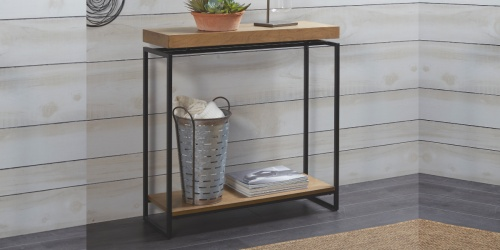 Better Homes & Gardens Natural Wood Console Table Only $39.86 Shipped at Walmart (Regularly $99)