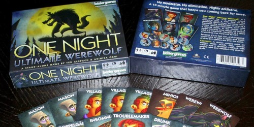 Up to 75% Off Strategy Games for the Family | One Night Ultimate Werewolf & More