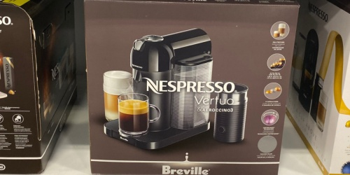 Nespresso Breville VertuoPlus Coffee Maker & Espresso Machine Only $109.99 Shipped (Regularly $250) at Best Buy