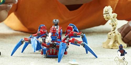 LEGO Marvel Spider-Man's Spider Crawler Set Only $22.99 (Regularly $40)