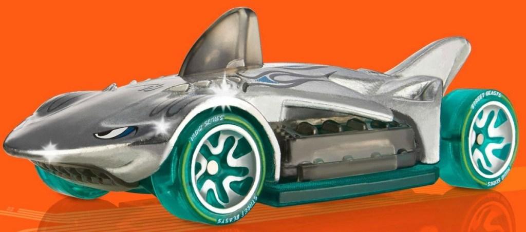 Hot Wheels Shark Hammer Car