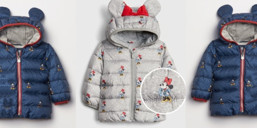 Disney ColdControl Ultra Max Down Puffers Only $14 at Gap (Regularly $65) + More