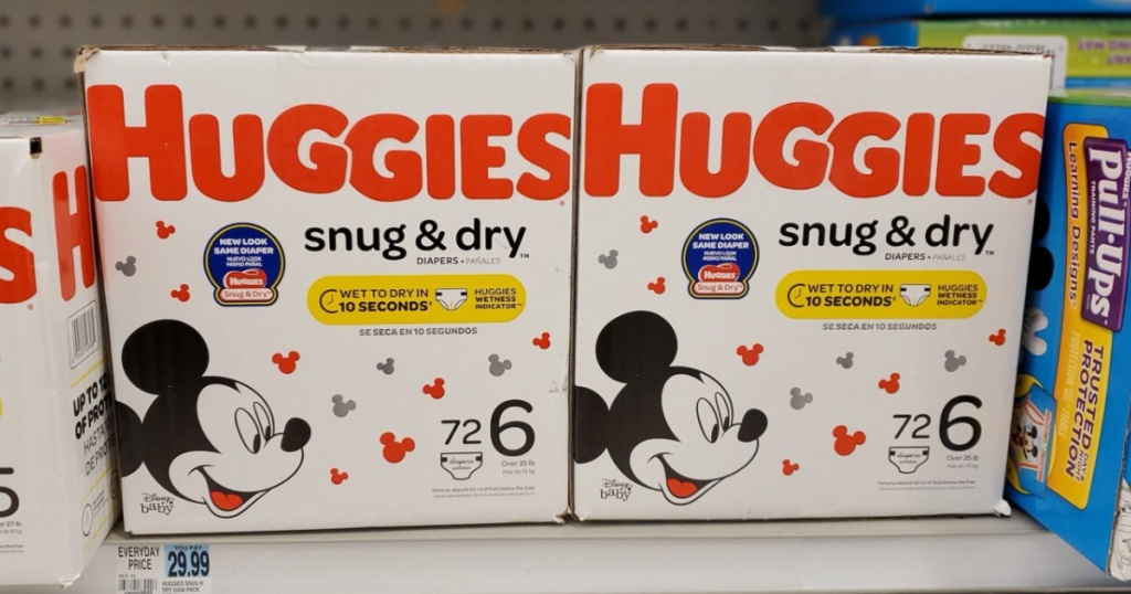 huggies gigapack diapers Rite aid