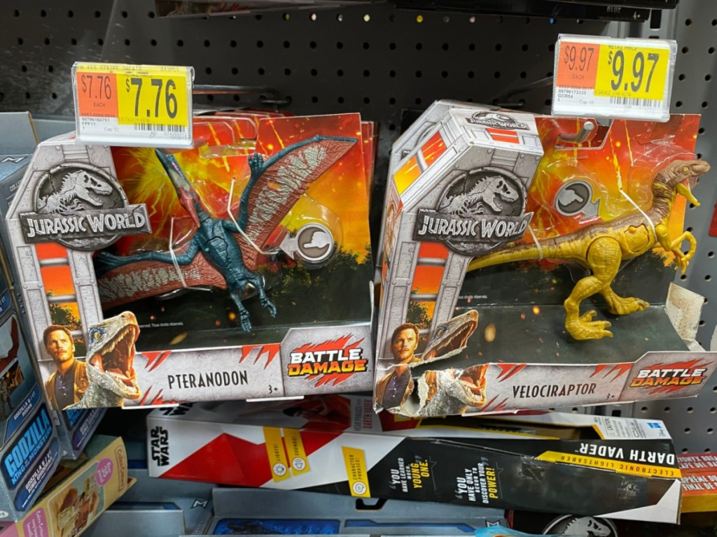 Jurassic World Dinosaurs at Walmart