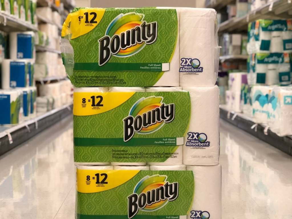 Bounty giant roll of paper towels