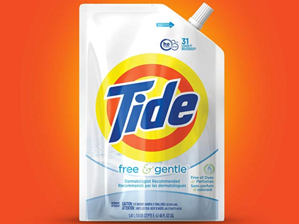 Tide Free and Gentle HE Laundry Detergent