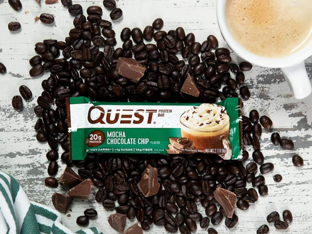 Quest Nutrition Mocha Chocolate Chip Protein Bar