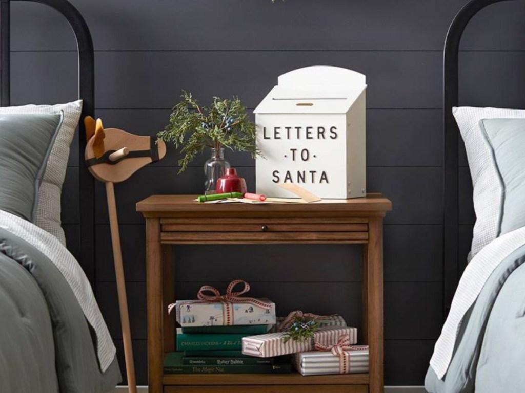 Hearth & Hand with Magnolia Letters to Santa Mailbox Sour Cream