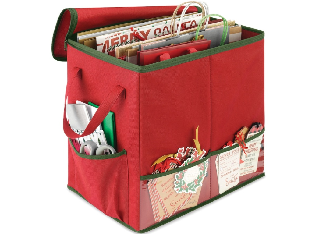 Whitmor Christmas Gift Bag Organizer