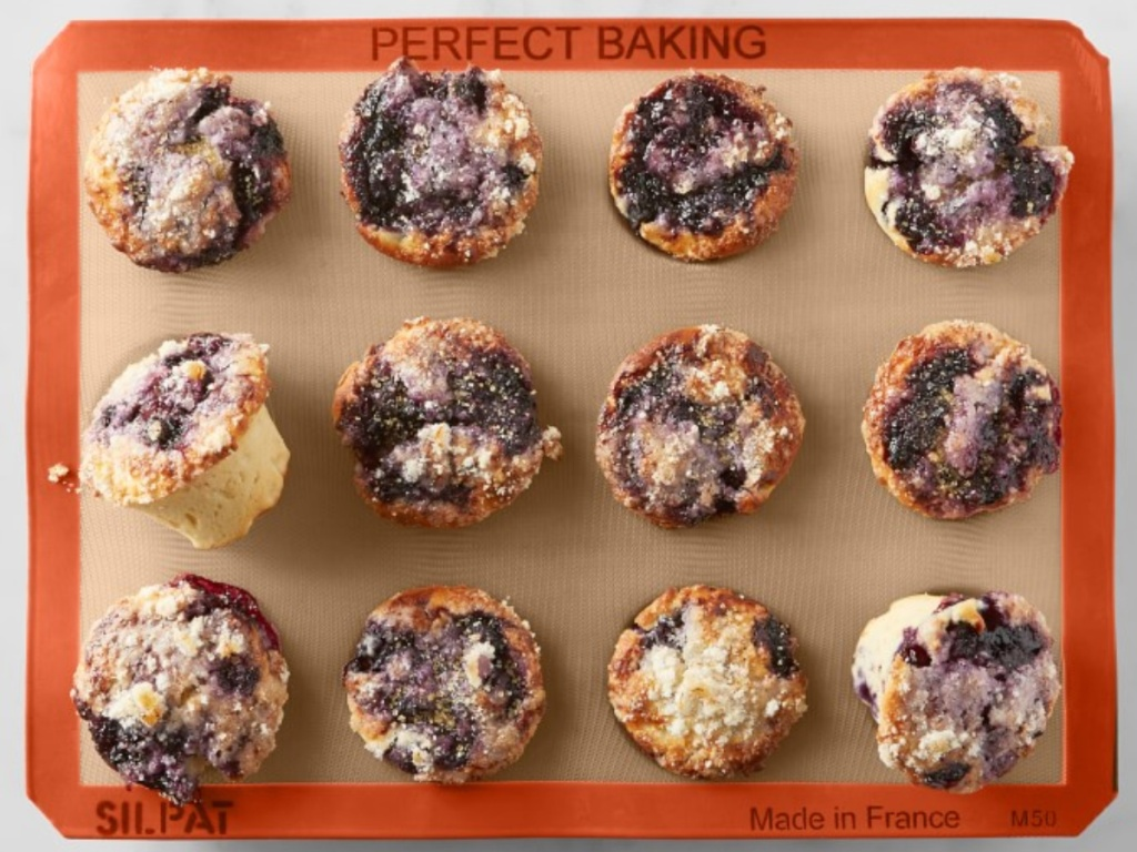 Silpat Silicone Baking Mat with Muffins