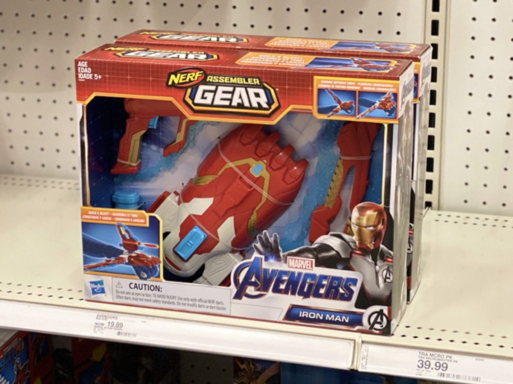 Marvel Endgame NERF Gun at Target