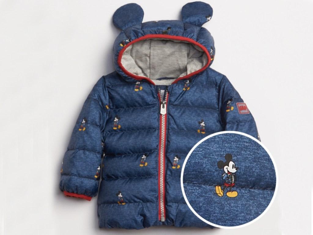 Gap Baby Disney Mickey Mouse Puffer