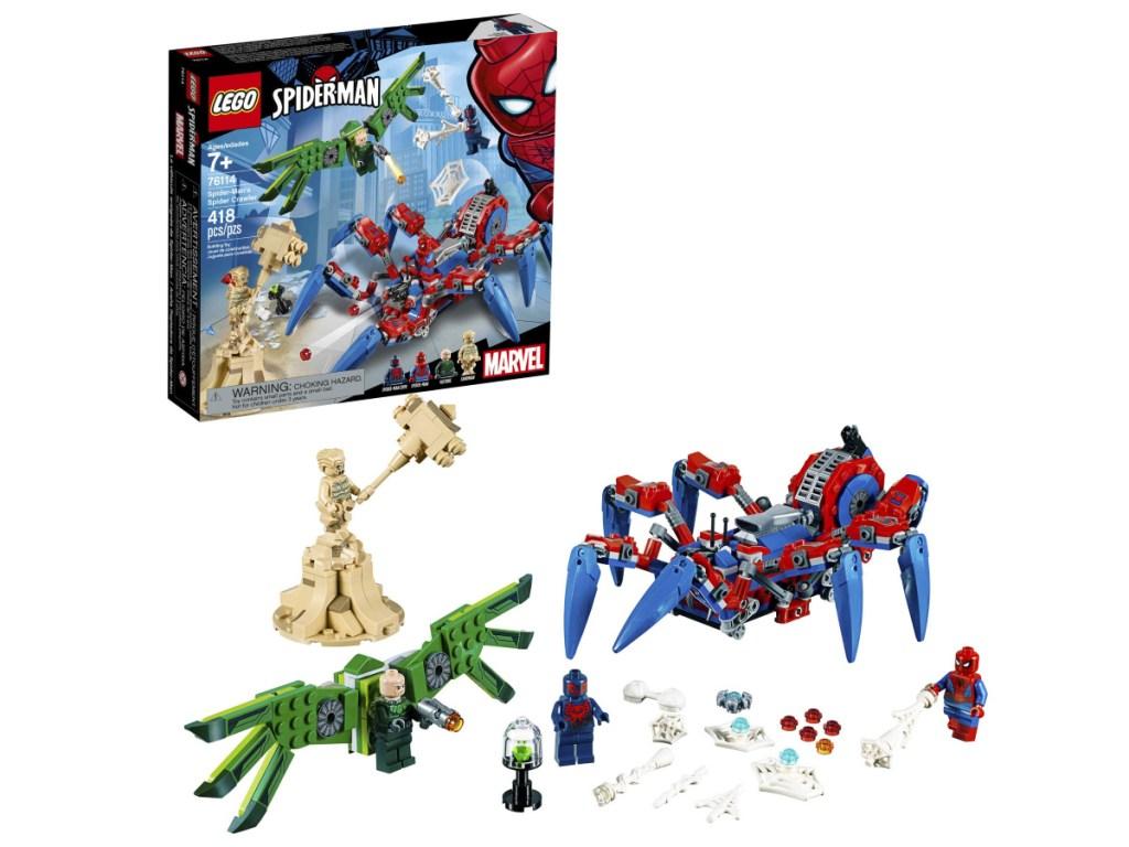 Spiderman Crawler Lego Set