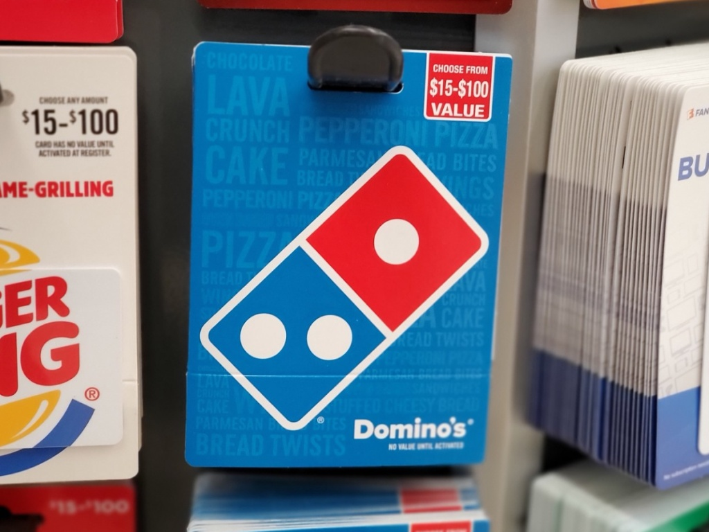Dominos Gift Card