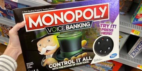 Monopoly Voice Banking Electronic Family Board Game Only $9.99 (Regularly $30)