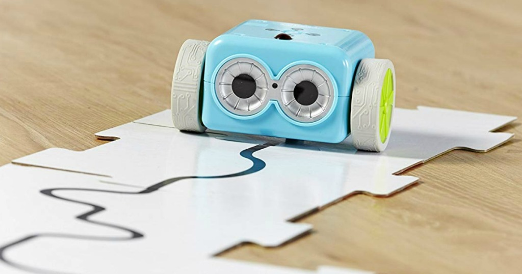 Botley coding robot following a created path by kids