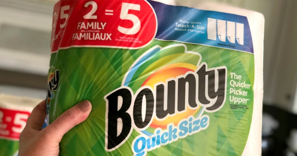 Bounty Paper Towels from Amazon
