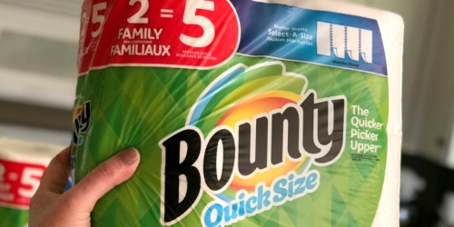 24 Bounty Double Plus Paper Towel Rolls Just $33 Shipped or Less on Amazon