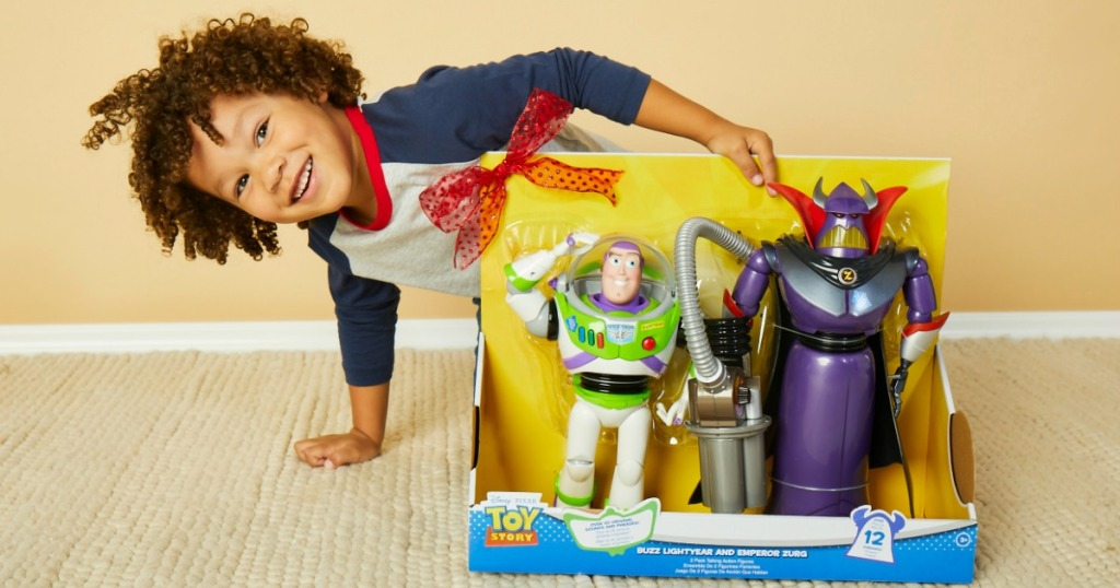 Buzz Lightyear and Zurg Action Figures