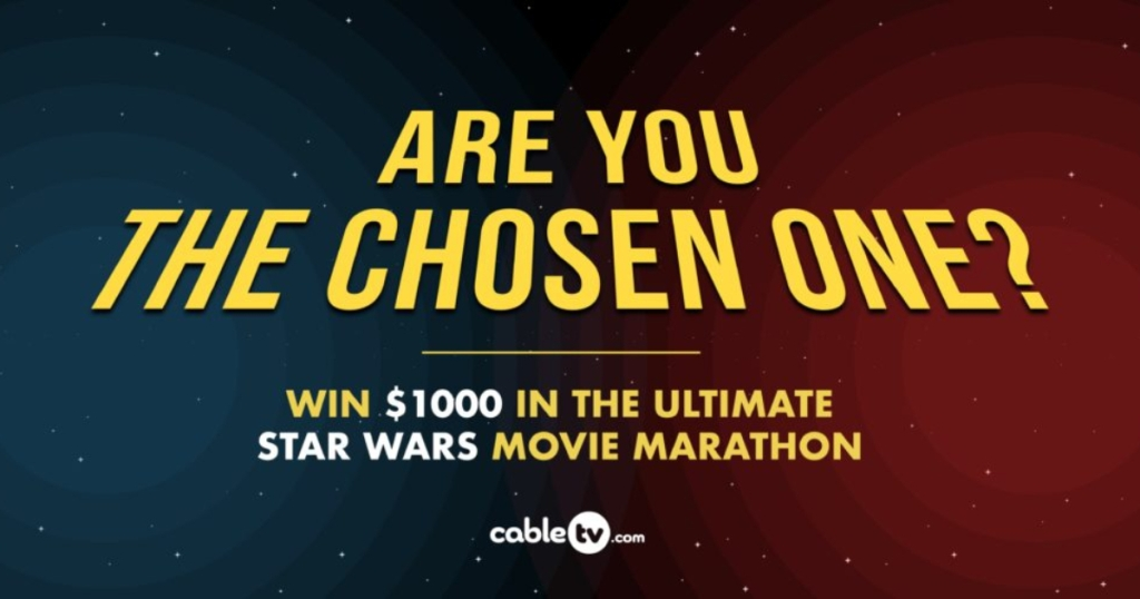 Are you the chosen one? Star Wars contest from CTV