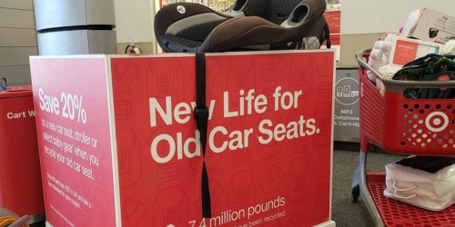 We've Got the Latest Info on Target's Car Seat Trade-In Event