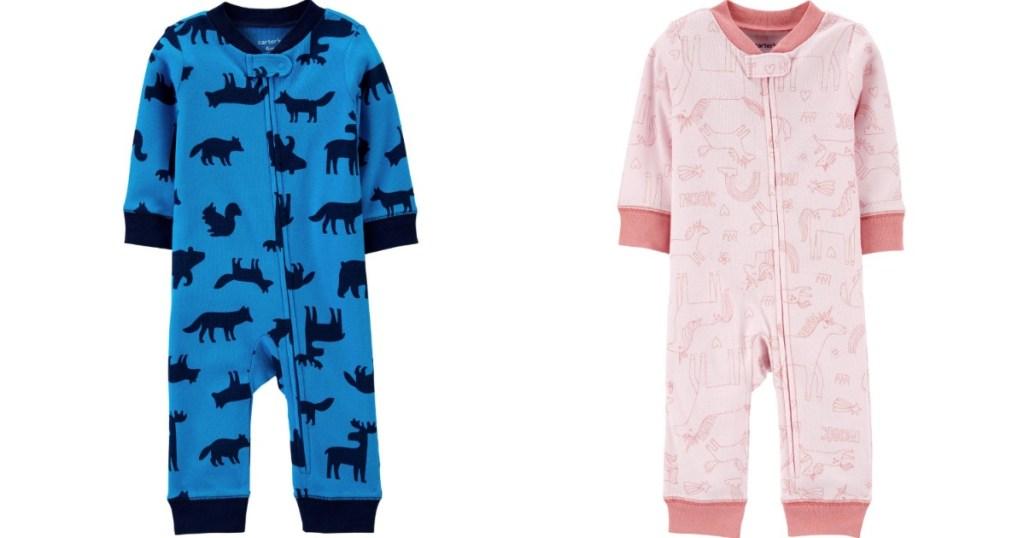 Carter's Footless Baby Pajamas
