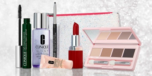 Over $100 Worth of Clinique Cosmetics Just $30 Shipped at Macy's