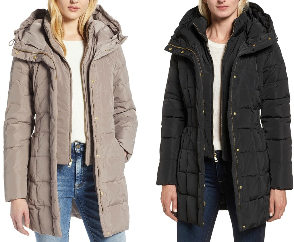 Cole Haan brand women's jackets in two colors