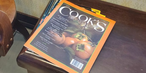 Cook's Illustrated Magazine Makes a Great Gift